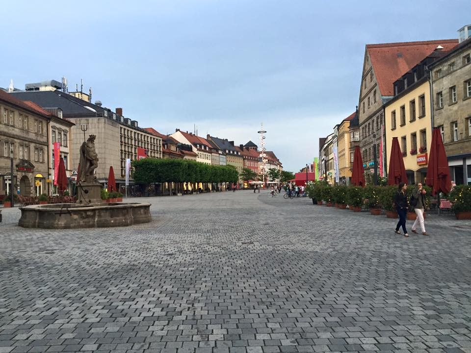 Bayreuth, schönes Städtchen