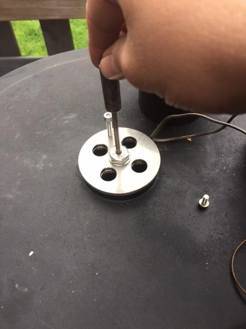 mit dem ODC Thermometer Garraum Temperatur messen