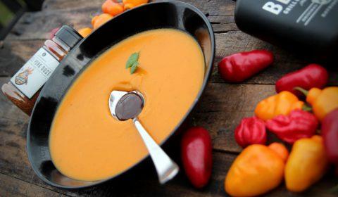 BBQ Kürbis Suppe