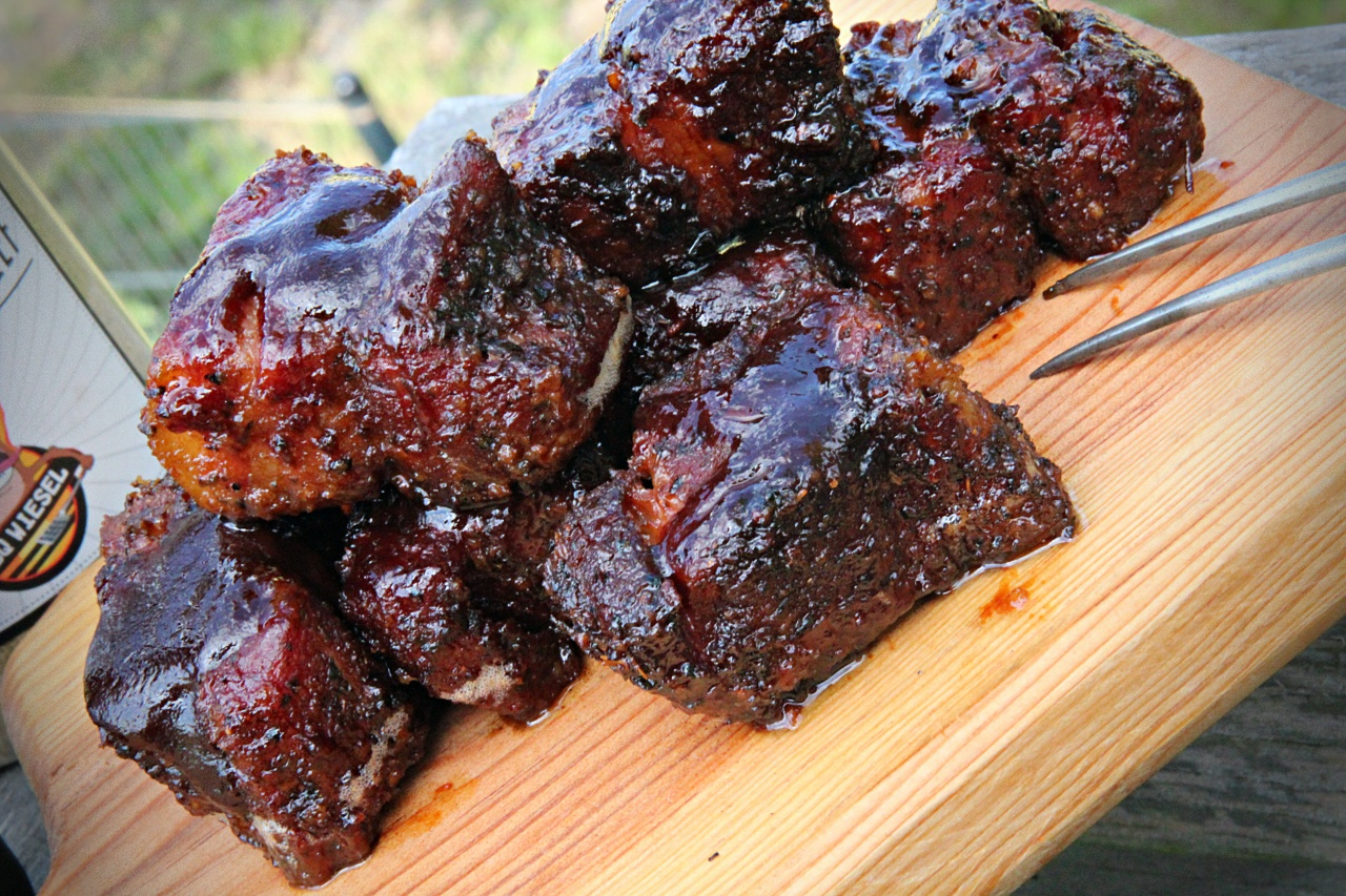 Pulled Pork Gasgrill Grillsportverein : Pork belly burnt ends u westwood bbq
