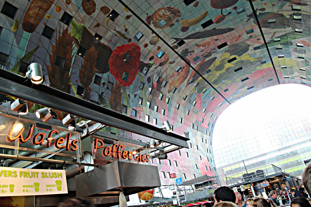 Markthal Rotterdam Westwood Bbq