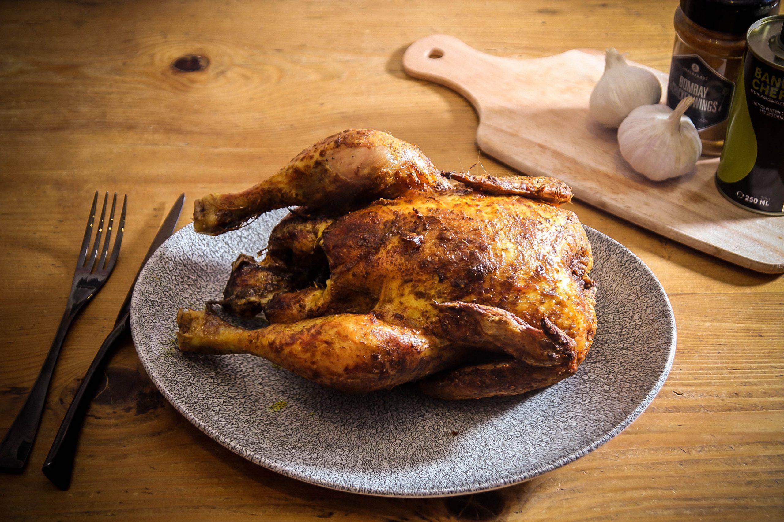 Selbst ohne Glasur ist Bombay Chicken Wing eins klasse Rub.